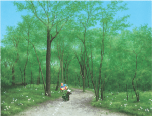 第2回心を癒やすスターリィマン絵画展★ スペシャル講演会&ギャラリートークのご案内